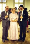 John Duarte mit Marga Bäuml und Leo Witoszynskyj, Graz 1984