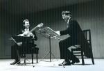 Ragossnig 1975 auf einer der drei Japan-Tourneen mit Hans Martin Linde