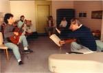 Meisterkurs 1988 in Lenk, mit Alexander Swete