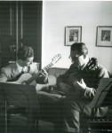 Ragossnig im Duo mit Karl Scheit 1955