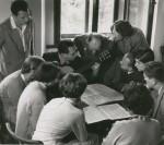 Seminar in Trautenfels 1955, hinten links Robert Brojer
