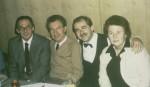 Scheit mit Konrad Ragossnig und Else Pührer anlässlich der Diplomprüfung von Wolfgang Poimer am 6.11.87