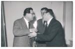 Karl Scheit mit Mario Sicca und Rudolf Degen
