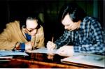 Heinz Wallisch, Assistent von Karl Scheit, war ein wichtiger Mitarbeiter bei Scheits letzten Notenausgaben